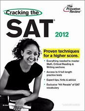 College Test Preparation: Cracking the SAT, 2012 Edition by Princeton Review...