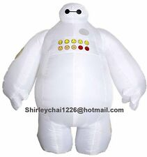 Halloween Inflatable costume Big Hero 6 Baymax Party Cosplay costume for adult
