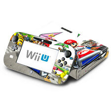 Skin Decal Cover for Nintendo Wii U Console & GamePad - Super Mario Kart