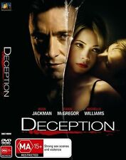 DECEPTION DVD R4 Hugh Jackman / Ewan McGregor