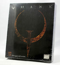 Vintage iD Software / GT Quake Big Box PC CD MINT Sealed Ultra RARE!