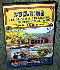 "cp092 MODEL RAILROAD VIDEO DVD ""BUILDING THE D&RG VOL.3"" HO SCALE"