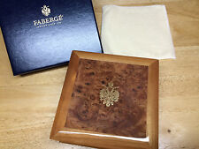 "FABULOUS ""FABERGE"" WOODEN BOX FOR YOUR JEWELRY OR BOX COLLECTORS BRAND NEW!!!"