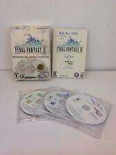 Final Fantasy XI (PC, 2003) 5 Disc, play online, G Condition, Manual