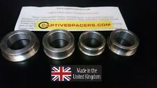 CBR900RR FIREBLADE 2002 - 2003 Captive wheel Spacers. Full set.