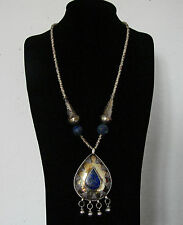 ETHNIC TRIBAL - COLLANA CON LAPISLAZZULI - NECKLACE TRIBAL ETHNIC LAPIS