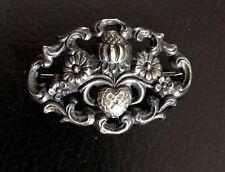 Hübsche antike Silber Brosche