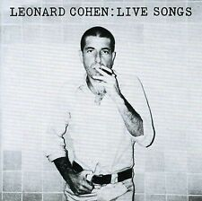 LEONARD COHEN LIVE SONGS CD NEW
