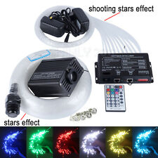 16W RGBW LED Fiber Optic Star Ceiling Light kit mixed 335 strands 4m+3 meteors
