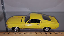 1/18 1968 FORD MUSTANG SHELBY GT350 SPECIAL ORDER COLOR 6066 YELLOW BY ACME