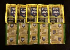Panini 2015 fifa 365 10 pack sticker lot 70 stickers  in all brand new unopened