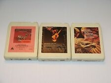 Vintage 8 Track Tapes Lot - John Denver - Barry Manilow - Sherrill Milnes