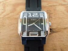 New - Reloj Watch TSC Time - Fantasia negro -  Box & Warranty - Steel - Nuevo