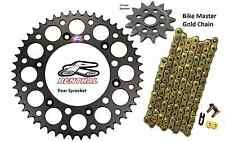 Renthal Black Sprocket and Gold Chain Kit Honda CRF250r CRF Crf250 04-15 13-49T
