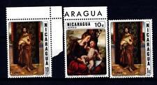 NICARAGUA - 1970 - J. van Hemessen: Madonna col Bambino - Portug. Scuola: El San