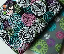 2pcs/lot 50*50cm cotton  textile Doll tecidos,DIY quilting  Patchwork fabric