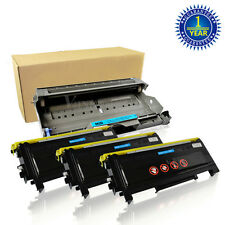 3PK TN350 Toner + DR350 Drum For Brother Intellifax 2820 2920 HL-2040 MFC-7420