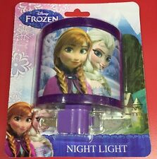 NEW Disney Frozen Night Light Kids Bedroom Anna & Elsa