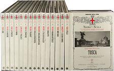 TEATRO ALLA SCALA La Grande opera italiana 16 cd doppi NUOVI