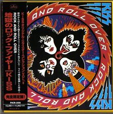 Kiss: Rock & Roll Over CD Rare Japan Gatefold Sleeve Mini LP