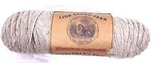 Lion Brand Fishermen's Wool Yarn Oatmeal 8oz Skein Felting Knitting Crocheting