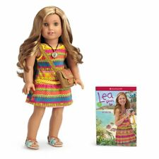 "American Girl Lea Clark Doll and Paperback Book American Girl of 2016 18"" New"