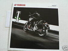 Y094-YAMAHA BROCHURE NAKED BIKES,VMAX,FZ1,MT-01,XJ6,FZ8,XJR1300 DUTCH 36 PAGES