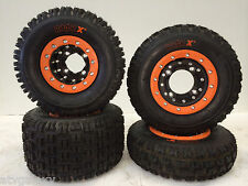 Hiper CF1 Beadlock Rims Maxxis XM MX Tires Front/Rear MX Kit KTM 450 505 525 XC
