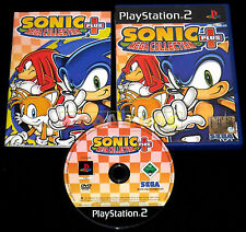 SONIC MEGA COLLECTION PLUS Ps2 Versione Italiana 1ª Edizione ••••• COMPLETO