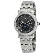Lucien Piccard Sierra Moon Phase Mens Watch 40007-11