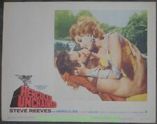 HERCULES UNCHAINED LOBBY CARD 11x14 Inch Movie Poster Card #5 STEVE REEVES 1960