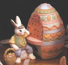 Ceramic Bisque Ready to Paint  Peter Cottontail Easter Hotline lights