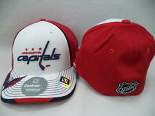 Washington Capitals Reebok NHL Red/Wte Center Ice Collection Hat Cap L/XL