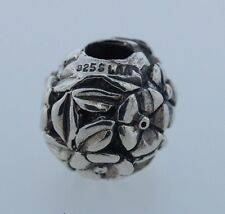 Authentic Trollbeads 11408 Thumbelina New Silver Charm Bead