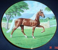 W S George Fine China Collectors Plate THE TENNESSEE WALKER Horses Of America