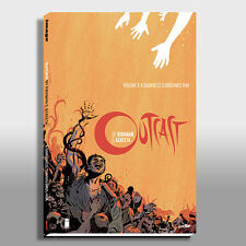 OUTCAST VOLUME 1 : HARDCOVER SDCC : ROBERT KIRKMAN : IMAGE COMICS : WALKING DEAD