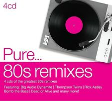 PURE...80S REMIXES 4 CD NEU