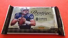 2012 Panini Prestige Football HOBBY Pack Andrew Luck Jersey AUTO? NEW