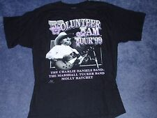 Volunteer Jam Tour 1999 the Charles Daniels band Concert T-Shirt  size Large