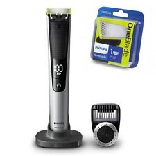 Philips OneBlade Pro QP6520 plus 1 EXTRA BLADE Rechargeable Trim 14-length comb