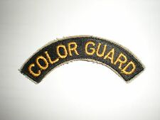 US ROTC COLOR GUARD TAB PATCH