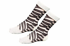 MUAY-THAI  Anklets Supports/ Brace ,Ankle Foot  ZEBRA  Size LARGE