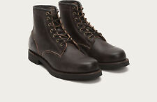 NEW FRYE ARKANSAS Mid Laces Mens Boots BROWN Leather Shoes Size 11 $448