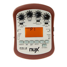 NUX PA-2 Portable Acoustic Guitar Effect Preamp with Tuner and Metronome