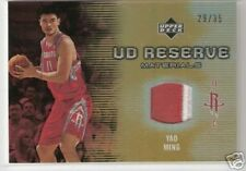06-07 UD RESERVE - YAO MING - 2 CL PATCH -  #/35