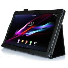 """STAND FOLDING LEATHER CASE COVER HOLDER FOR SONY XPERIA Tablet Z2 SGP521 10.1"""""""