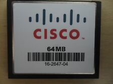 Cisco 64 MB CF Compact Flash Memory Card 2801 2811 2821 2851 3825 3845 2900
