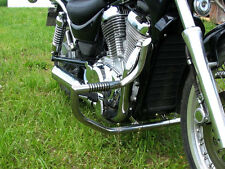 SUZUKI INTRUDER VS 800 ENGINE GUARD CRASH BAR WITH PEGS
