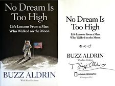 Buzz Aldrin~SIGNED~No Dream Too High~1st/1st + Photos!!