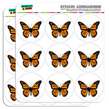 """Monarch Butterfly 2"""" Scrapbooking Crafting Stickers"""